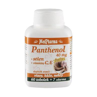Panthenol 40 mg + selen + vitaminy C, E